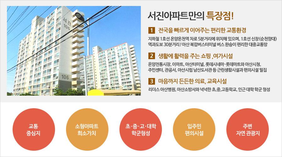 서진아파트특징